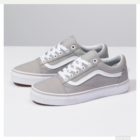 Get - light gray old skool vans - OFF